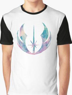 Watercolor Jedi Order (white) Graphic T-Shirt