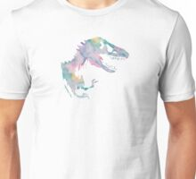 Watercolor Jurassic (white)  Unisex T-Shirt