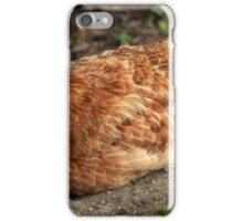 Rooster in a Field iPhone Case/Skin