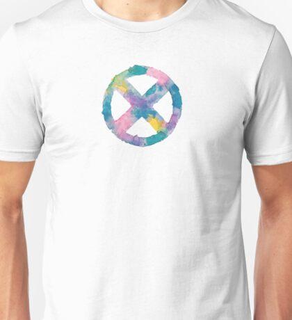 Watercolor X-Men (white)  Unisex T-Shirt