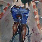 Cyclist by Dragana Susic