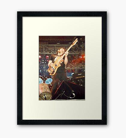 Lemmy Kilmister Motorhead Framed Print