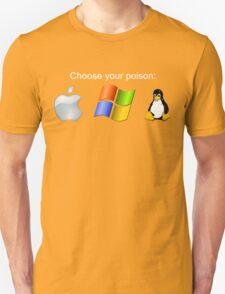 """""""Choose your poison"""" - Dark Unisex T-Shirt"""