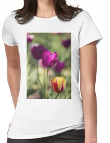 Study of Tulips Womens Fitted T-Shirt