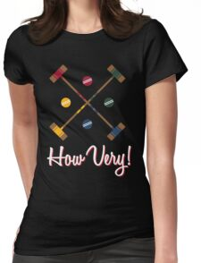 How Very! Womens Fitted T-Shirt