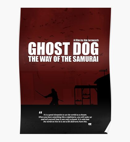 Ghost Dog - The Way of the Samurai Poster