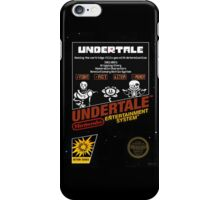 Undertale NES Box Art iPhone Case/Skin