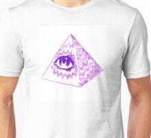 Illuminati Pyramid and Eye Unisex T-Shirt