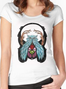 Mystic Owl Women's Fitted Scoop T-Shirt