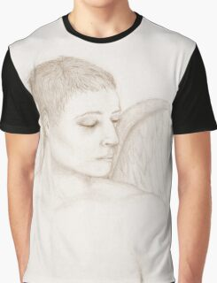Angelic gaze - sepia version Graphic T-Shirt