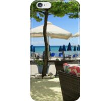 Sit back with a beer/coffee and just enjoy the view. iPhone Case/Skin