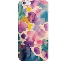 Watercolor : Wildflower  iPhone Case/Skin