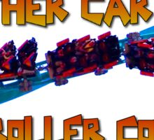 Roller Coaster Enthusiast Decal Sticker