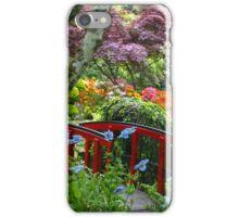 Butchart  Garden iPhone Case/Skin