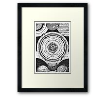 An ode to Pluto Framed Print
