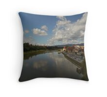 Home town Maribor,Slovenia Throw Pillow