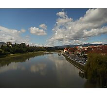 Home town Maribor,Slovenia Photographic Print