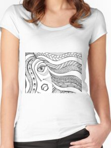 Tribal Women's Fitted Scoop T-Shirt