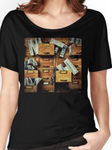 Filing System Women's Relaxed Fit T-Shirt