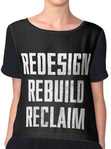 Seth Rollins - Redesign Rebuild Reclaim Chiffon Top