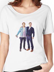 Chris Evans and Sebastian Stan Women's Relaxed Fit T-Shirt