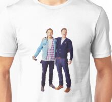 Chris Evans and Sebastian Stan Unisex T-Shirt