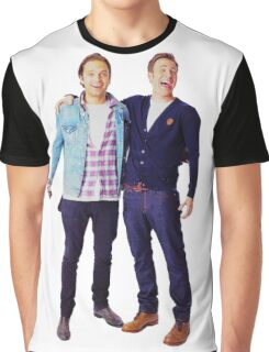 Chris Evans and Sebastian Stan Graphic T-Shirt