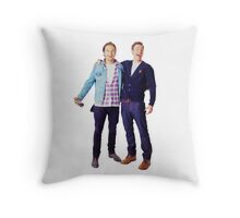 Chris Evans and Sebastian Stan Throw Pillow