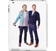 Chris Evans and Sebastian Stan iPad Case/Skin