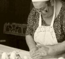 The Pastry Maker - Sardinia Sticker