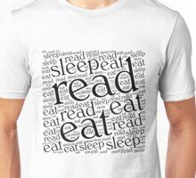 Read, Eat, Sleep Unisex T-Shirt