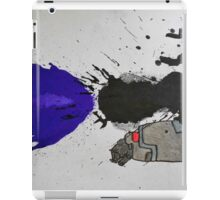Ink Splatter Megatron Fusion Cannon  iPad Case/Skin