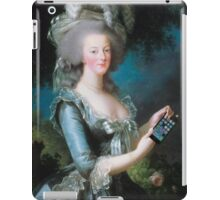 Marie Antoinette: call me on my new phone! iPad Case/Skin