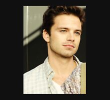 Sebastian Stan Looking Off In the Distance Unisex T-Shirt
