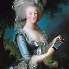 Marie Antoinette: call me on my new phone! by adrienne75