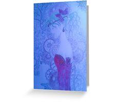 "Terra wearing the ""slave crown"" Greeting Card"