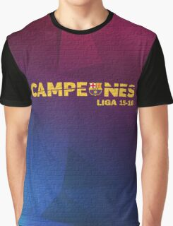 Barcelona campeones 2 Graphic T-Shirt