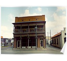 Commercial Building, Downtown Lafayette Poster