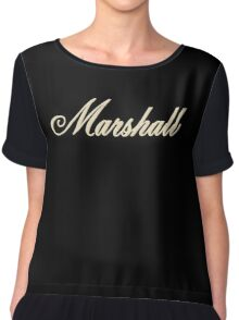 Vintage Bold Marshall Chiffon Top