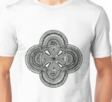 Five bubble detailed mandala 2 Unisex T-Shirt