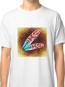 Colorful Feather Classic T-Shirt