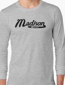 Madison Wisconsin Vintage Logo Long Sleeve T-Shirt