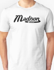 Madison Wisconsin Vintage Logo Unisex T-Shirt