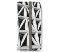 Concrete Block Screen B&W iPhone Wallet/Case/Skin