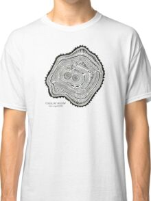 Peachleaf Willow – Black Ink Classic T-Shirt