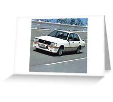 Mitsubishi Lancer 2000 Turbo Greeting Card