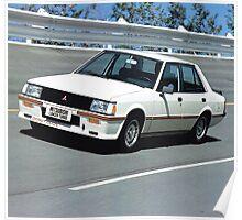 Mitsubishi Lancer 2000 Turbo Poster