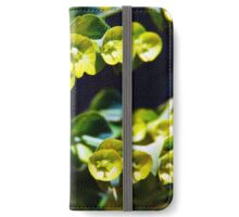 Leaves/Buds Closeup iPhone Wallet/Case/Skin