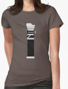 Custom Lightsaber Womens Fitted T-Shirt
