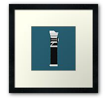 Custom Lightsaber Framed Print